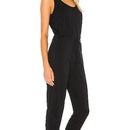 Commando Butter Tank Lounge Jumpsuit in Black from Revolve.com   Revolve Clothing (Global)