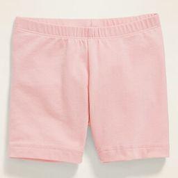 Jersey Bike Shorts for Toddler Girls | Old Navy (US)