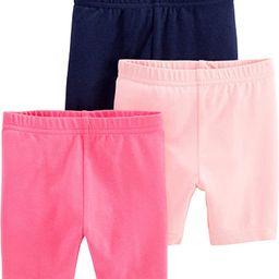 Baby and Toddler Girls' 3-Pack Bike Shorts | Amazon (US)