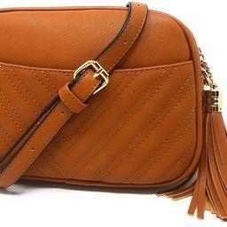 Quilted Crossbody Bag, Trendy Design Shoulder Purse   Amazon (US)