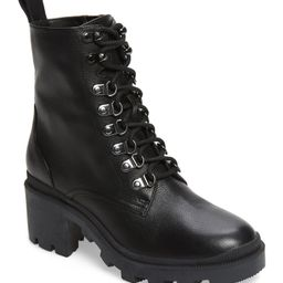 Taylor Block Heel Combat BootBP.   Nordstrom