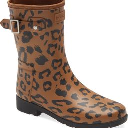 Rating 4.7out of5stars(23)23Original Leopard Print Refined Short Waterproof Rain BootHUNTER   Nordstrom