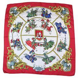 Hermès Chevalerie Scarf - Schorr & Dobinsky - red/multi | One Kings Lane