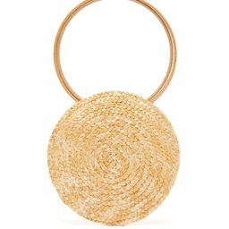 Eliurpi - Circle Mini Woven-straw Bag - Womens - Beige | Matchesfashion (UK)