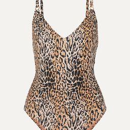 Melissa Odabash - Cyprus Leopard-print Swimsuit - Leopard print | Net-a-Porter (US)