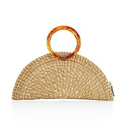 Unbranded The Amy Straw Clutch - Natural   Saks Fifth Avenue