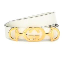GG Horsebit leather belt | Mytheresa (INTL)