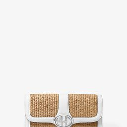 Monogramme Small Woven Clutch   Michael Kors (US & CA)
