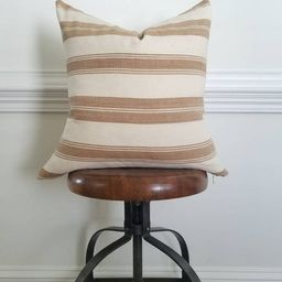 The Sienna Stripe Pillow Cover: | Etsy | Etsy (US)