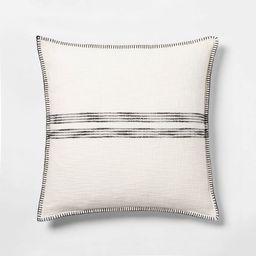 Oversize Square Woven Stripe Pillow - Threshold™ | Target