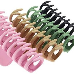 TOCESS Big Hair Claw Clips 4 Inch Nonslip Large Claw Clip for Women and Girls Thin Hair, Strong H...   Amazon (US)