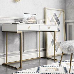 Camila Desk CosmoLiving by Cosmopolitan Color: White | Wayfair North America