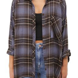 Brendon Plaid Flannel Shirt   Nordstrom