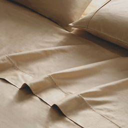 Brielle Home Viscose from Bamboo Sateen Bed Sheet Set - Charcoal - Queen | Overstock