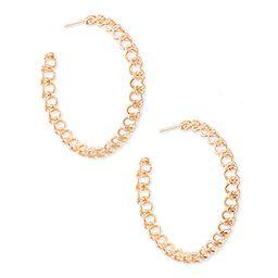 Fallyn Hoop Earrings In Rose Gold | Kendra Scott