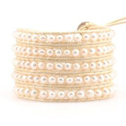 Freshwater Pearls on Ivory   Victoria Emerson