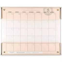 "20"" x 16"" Glass Dry Erase Calendar - Sugar Paper Essentials™ | Target"