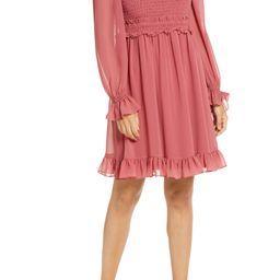 Smocked Ruffle Dress   Nordstrom