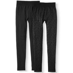 Women's Embossed Legging - 2 Pack | Walmart (US)