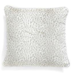 'Snow Leopard' Faux Fur Throw Pillow   Nordstrom