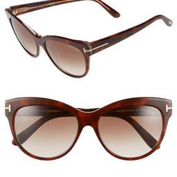 'Lily' 56mm Cat Eye Sunglasses   Nordstrom
