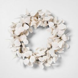 Faux Bleached Eucalyptus Wreath - Hearth & Hand™ with Magnolia | Target
