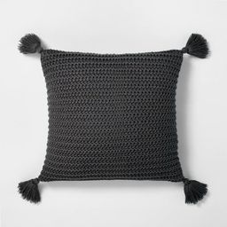 Chunky Knit Decor Pillow - Hearth & Hand™ with Magnolia   Target