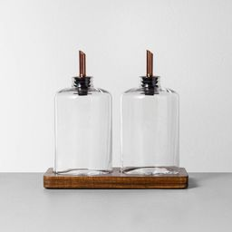 Oil & Vinegar Pour Set - Hearth & Hand™ with Magnolia   Target