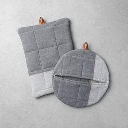 2pk Potholder Set Gray - Hearth & Hand™ with Magnolia | Target