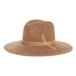 Velvet Trim Felted Wool Panama Hat | Nordstrom