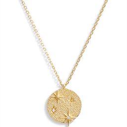 Starburst Medallion Necklace | Nordstrom