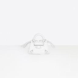 Balenciaga - Neo Classic Mini Top Handle Bag White | Balenciaga