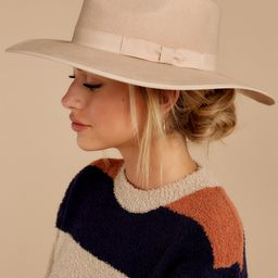 Under Cover Cream Hat | Red Dress