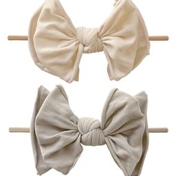 2-Pack Bow Skinny Headbands | Nordstrom