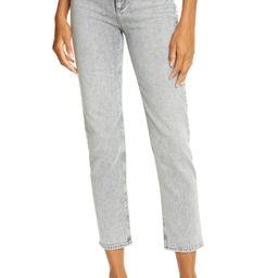 Nina High Waist Ankle Cigarette Jeans | Nordstrom