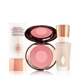 30% Off - Charlotte's Magic Blush & Glow Complexion Kit - Summer Beauty Sale    Charlotte Tilbury   Charlotte Tilbury (US)