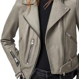 Balfern Leather Biker Jacket   Nordstrom