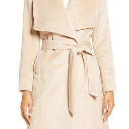 Wool & Alpaca Blend Wrap Coat   Nordstrom
