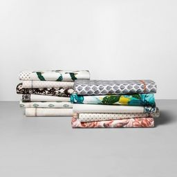 Printed Cotton Percale Sheet Set - Opalhouse™ | Target