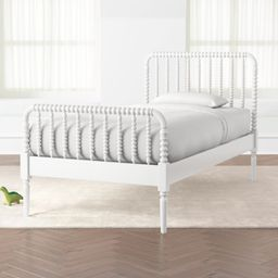 Jenny Lind White Twin Bed + Reviews | Crate and Barrel | Crate & Barrel