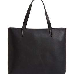 Faux Leather Classic Tote   Nordstrom