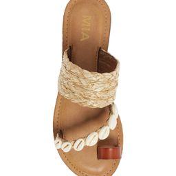 Bea Cowrie Shell Sandal   Nordstrom