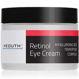 Retinol Eye Cream Moisturizer 2.5% from YEOUTH Boosted w/Retinol, Hyaluronic Acid, Caffeine, Gree...   Amazon (US)