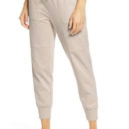 Washed Organic Cotton Ankle Jogger Pants | Nordstrom