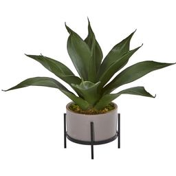 Faux Agave Succulent in Decorative Planter | Pottery Barn (US)
