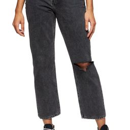 Chicago Ripped Knee High Waist Dad Jeans | Nordstrom