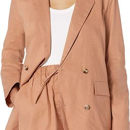The Drop Women's Irene Loose-Fit Double Breasted Blazer | Amazon (US)