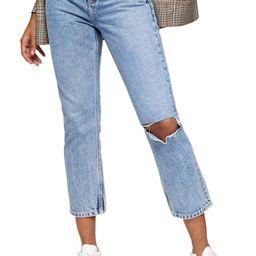 Chicago Crop Slim Straight Jeans   Nordstrom