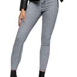 New Grey Jamie High Waist Crop Skinny Jeans | Nordstrom