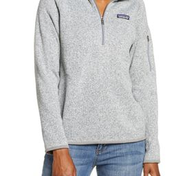 Better Sweater Quarter Zip Performance Jacket | Nordstrom